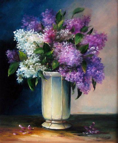 Chambre Fille Bleu Et Violet : peinture a huile oeuvres originales